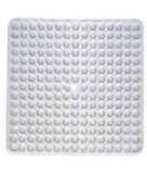 Gedy Funky Bubble Square Shower Mat Clear 976060-00